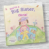 You're a Big Sister Personalized Kids' Book - 20740D