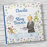 Personalized Ring Bearer Book - The Best Ever Ring Bearer - 20744D