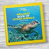 National Geographic: Personalized Kids Book of Ocean Animals - 20746D