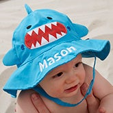 Custom Embroidered Baby Sun Hat - Shark - 20753