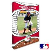 Cincinnati Reds Personalized MLB Photo Canvas Print - 20820