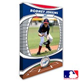 Los Angeles Dodgers Personalized MLB Photo Canvas Print - 20827