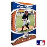 New York Mets Personalized MLB Photo Canvas Print - 20831