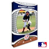 New York Yankees Personalized MLB Photo Canvas Print - 20832
