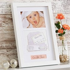 Baby Memento Shadow Box Keepsake Picture Frame - 20865