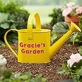 Personalized Kids Watering Can - Sunshine & Gardening - 20888