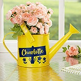Personalized Watering Can Flower Pot - 20889