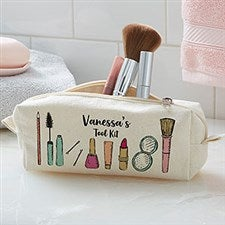 Personalized Makeup Bag - Makeup Brushes - 20926
