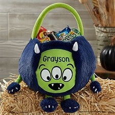 Personalized Halloween Trick or Treat Bag - Monster - 21006