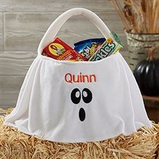 Personalized Halloween Trick or Treat Bag - Ghost - 21007