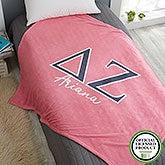 Delta Zeta Personalized Greek Letter Blankets - 21029