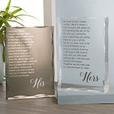 Personalized Wedding Vow Keepsake - 21036
