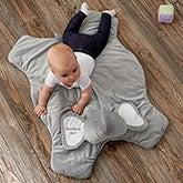Personalized Baby Play Mat - Jumbo Plush Elephant - 21045