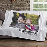 Photo Collage Personalized Blankets For Him - 21050