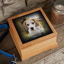 Photo Memorial Personalized Pet Urn - 21073