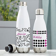 Personalized Insulated Water Bottles For Girls - 21106