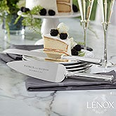 Custom Engraved Lenox Devotion Cake Knife & Server Set - 21112