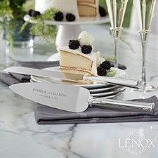 Custom Engraved Lenox Devotion Cake Knife & Server Set - 21112
