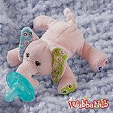 Wubbanub Pacifier - Ella Bella Elephant - 21119