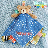 Taggies Personalized Teddy Bear Baby Lovey - 21120