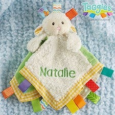 Taggies Personalized Lamb Baby Lovey - 21121