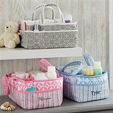 Personalized Diaper Caddy Organizer - 21138