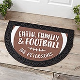 Football Season Personalized Doormats - 21177