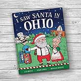 I Saw Santa Personalized Storybook - 21205
