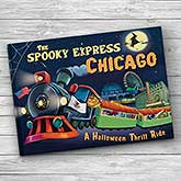 Spooky Express Personalized Storybook - 21206