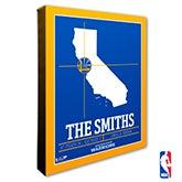 Golden State Warriors Personalized NBA Wall Art - 21227