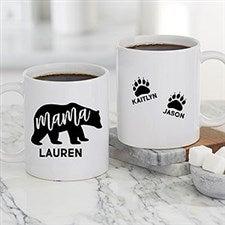 Personalized Mama Bear Coffee Mugs - 21249