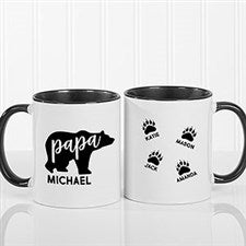 Personalized Papa Bear Mugs - 21253