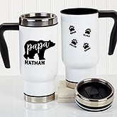 Papa Bear Personalized Travel Mug - 21255
