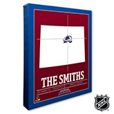 Colorado Avalanche Personalized NHL Wall Art - 21311
