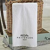 Personalized Tea Towels - Infinite Love - 21365