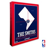 Washington Wizards Personalized NBA Wall Art - 21415