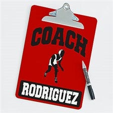 Personalized Clipboards For Wrestling Coaches - 21424