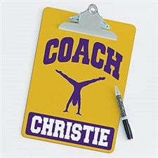 Personalized Clipboards For Gymnastics Coaches - 21430