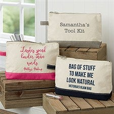 Expressions Personalized Makeup Bags - 21436