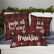 Christmas Blankets Pillows Personalization Mall
