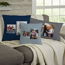 Personalized 2 Photo Collage Throw Pillows For Her - 21453