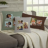Personalized 3 Photo Collage Throw Pillows For Her - 21454