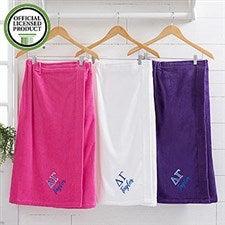 Delta Gamma Embroidered Towel Wrap - 21515
