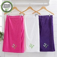 Delta Zeta Embroidered Towel Wrap - 21516