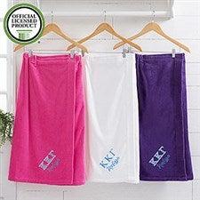 Kappa Kappa Gamma Embroidered Towel Wrap - 21520