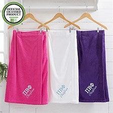 Pi Beta Phi Embroidered Towel Wrap - 21521