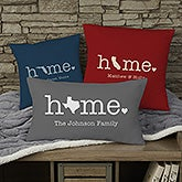 Home State Personalized Throw Pillows - 21527