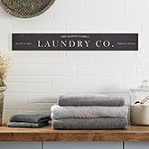 Personalized Laundry Room Sign - 21540
