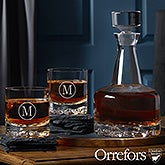 Engraved Whiskey Decanter Set - Orrefors - 21574