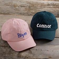 Kids Custom Embroidered Baseball Caps - 21583